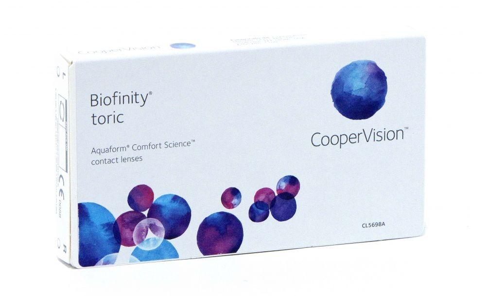 Biofinity Toric conf. 3 pz. (Cooper Vision)