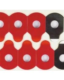 Biadesivo Rosso Hydrofobic 100 pz