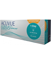 1 Day Acuvue Oasys HydraLuxe for Astigmatism conf. 30 pz. (Johnson&Johnson)